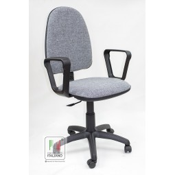 Sedia ergonomica con schienale alto ed ampio